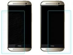 خرید عمده محافظ صفحه نمایش شیشه ای HTC One M8 مارک Nilkin