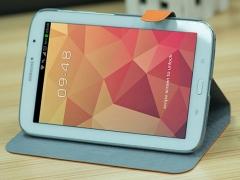 """فروش عمده کیف چرمی مدل01 Samsung Galaxy Note 8"""" N5100 مارک HOCO"""