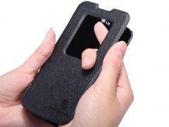 خرید اینترنتی کیف چرمی LG L90 مارک Nillkin