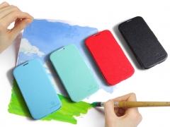 فروشگاه اینترنتی کیف چرمی Samsung Galaxy S4 مارک Nillkin