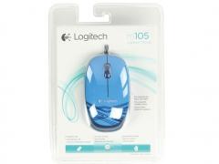 خرید پستی موس اپتیکال لاجیتک Logitech Wired M105