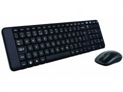 فروش عمده ست موس و کیبورد لاجیتک Logitech Wireless MK220