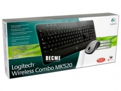 خرید پستی ست موس و کیبورد لاجیتک Logitech Wireless MK520
