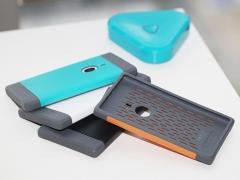 خرید عمده محافظ ژله ای Nokia Lumia 925 مارک Rock