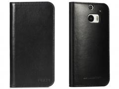 خرید پستی کیف چرمی HTC One M8 مارک ROCK