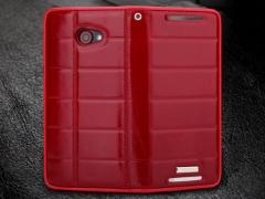 فروش پستی کیف چرمی02 HTC Butterfly S مارک ROCK