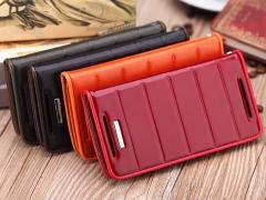 خرید اینترنتی کیف چرمی02 HTC Butterfly S مارک ROCK
