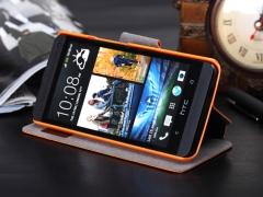 خرید عمده کیف چرمی HTC ONE / M7 مارک ROCK