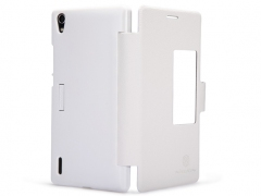 خرید آنلاین کیف چرمی گوشی Huawei Ascend P7 مارک Nillkin