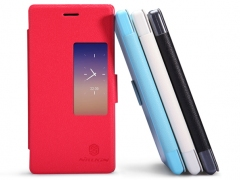 خرید پستی کیف چرمی گوشی Huawei Ascend P7 مارک Nillkin