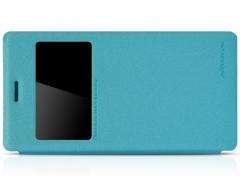 خرید پستی کیف چرمی Sony Xperia M2 مارک Nilkin