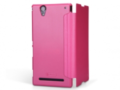 خرید آنلاین کیف چرمی مدل Sony Xperia T2 Ultra مارک Nillkin