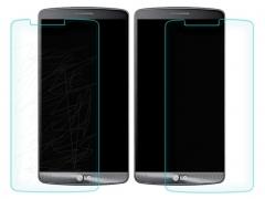 خرید پستی محافظ صفحه نمایش شیشه ای LG G3 مارک Nillkin