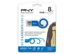 خرید پستی فلش مموری پی ان وای PNY Monkey Tail Attache 8GB