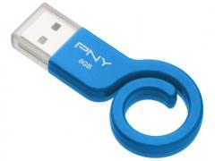 خرید آنلاین فلش مموری پی ان وای PNY Monkey Tail Attache 8GB
