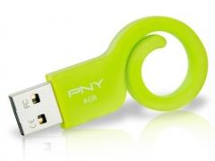 خرید فلش مموری پی ان وای PNY Monkey Tail Attache 8GB