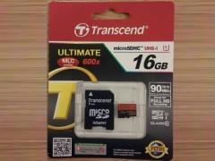خرید پستی رم میکرو اسدی 16 گیگابایت Transcend Class 10 Premium 600X