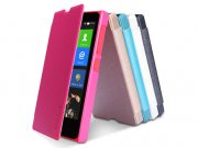 فروش عمده کیف چرمی مدل01 Nokia X مارک Nillkin