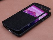خرید کیف چرمی مدل01 LG Google Nexus 5 مارک ROCK
