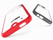 خرید اینترنتی قاب محافظ شیشه ای HTC One M8 مارک Rock