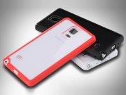 خرید عمده قاب محافظ شیشه ای Samsung Galaxy Note 4 مارک Rock