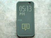 خرید عمده کیف هوشمند HTC One E8 Dot View