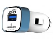 فروشگاه آنلاین شارژر فندکی 2.1 میلی آمپر LDNIO با یک پورت USB