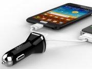 خرید اینترنتی شارژر فندکی 2.1 میلی آمپر LDNIO با دو پورت USB مدل DL-DC219