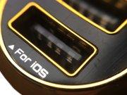 خرید اینترنتی شارژر فندکی 3.4 آمپر LDNIO با دو پورت USB مدل DL-C27