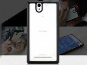 خرید آنلاین قاب شیشه ای Sony Xperia C3 مارک Rock