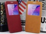 فروش اینترنتی کیف چرمی Samsung Galaxy Note 4 مارک Baseus