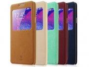 خرید آنلاین کیف چرمی Samsung Galaxy Note 4 مارک Baseus