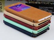 خرید اینترنتی کیف چرمی Samsung Galaxy Note 4 مارک Baseus