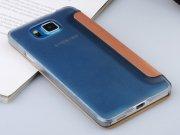 فروش اینترنتی کیف چرمی Samsung Galaxy Alpha مارک Baseus