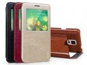 خرید عمده کیف چرمی Samsung Galaxy Note 4 مارک Hoco
