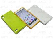 خرید عمده محافظ ژله ای رنگی Huawei Ascend P6