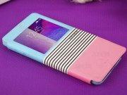 خرید پستی کیف چرمی Samsung Galaxy Note 4 مارک Baseus مدل EDEN