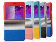 خرید کلی کیف چرمی Samsung Galaxy Note 4 مارک Baseus مدل EDEN