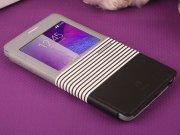 فروشگاه آنلاین کیف چرمی Samsung Galaxy Note 4 مارک Baseus مدل EDEN
