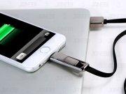 کابل دو پورت Micro USB و Lightning مارک Remax-King Kong