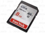 خرید رم اس دی دوربین Sandisk SD Card 266x 8gb