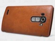 کیف چرمی نیلکین ال جی Nillkin Qin Leather Case LG G4