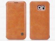 کیف چرمی نیلکین سامسونگ Nillkin Qin Leather Case Samsung Galaxy S6 edge