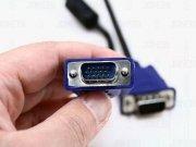کابل مانیتور 10 متری 15PIN VGA ADAPTER Monitor Male To Male