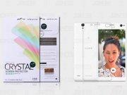 محافظ صفحه نمایش شفاف Sony Xperia C4