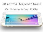 محافظ صفحه نمایش شیشه ای Mocoll Samsung Galaxy S6 Edge 3D curve