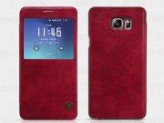 کیف چرمی نیلکین سامسونگ Nillkin Qin Leather Case Samsung Galaxy Note 5