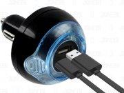 شارژر فندکی و خوشبو کننده اتومبیل Freshtech Dual USB Car Charger And Air Freshener