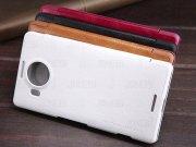کیف چرمی نیلکین مایکروسافت Nillkin Qin Leather Case Microsoft Lumia 950 XL