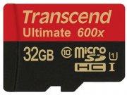 رم میکرو اسدی 32 گیگابایت Transcend Class 10 Ultimate 600X